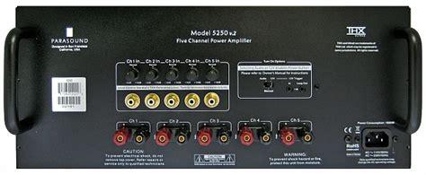 parasound  classic  multi channel power