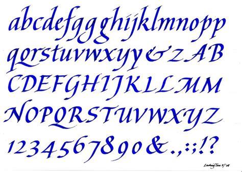 printable italic letters learn calligraphy italic alphabet