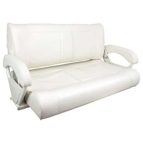 white bench seats springfield double bucket bench seat white upholstery west marine