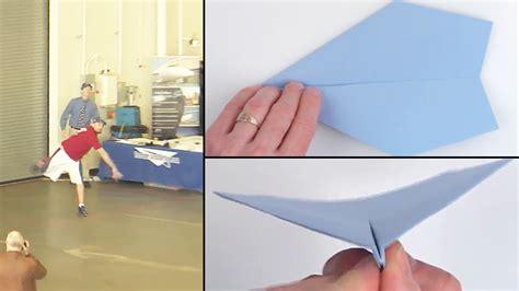 ceron ギネス記録保持者が教える 世界で最も遠くまで飛んだ紙飛行機の折り方 gigazine