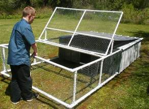 Diy Raised Bed Vegetable Garden - build a chicken tractor from pvc diy projects for everyone
