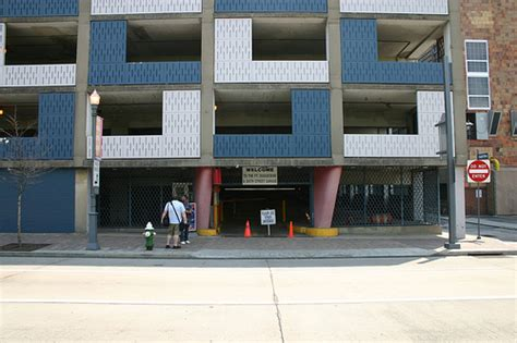 Pittsburgh Parking Garage by Sustainable Parking Catering To Commuters And The