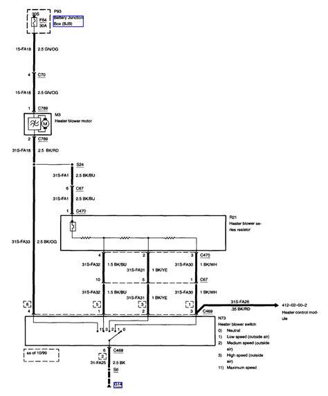 2001 ford focus wiring diagram 2001 ford focus blower wiring diagram efcaviation