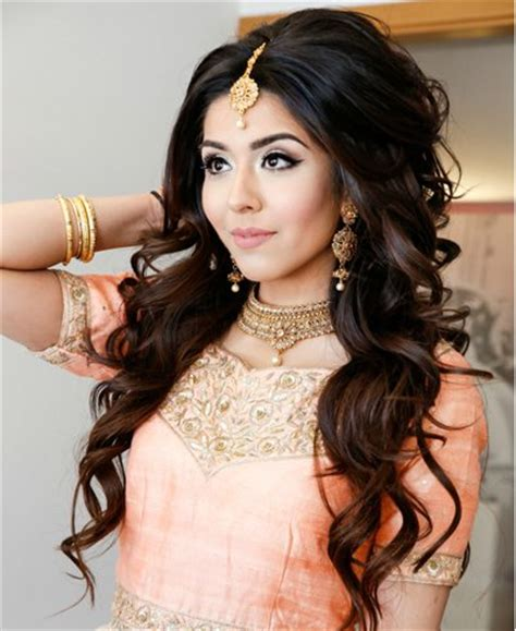 pakistani bridal hairstyles: hair glamour for your special day