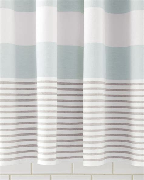 turquoise striped curtains 25 best ideas about beach shower curtains on pinterest