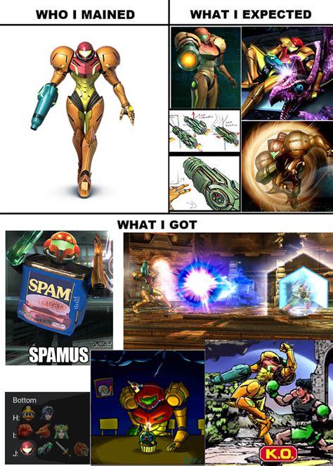 Smash Bros Memes - smash bros meme who i mained samus by varia31 on deviantart
