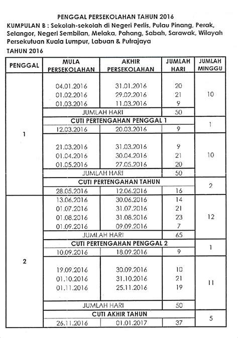 jadual haji 2016 takwim cuti sekolah 2016 dan jadual pembayaran gaji