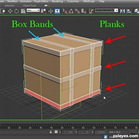 tutorial autocad to 3ds max how to model a shipping crate 3ds max tutorial pxleyes