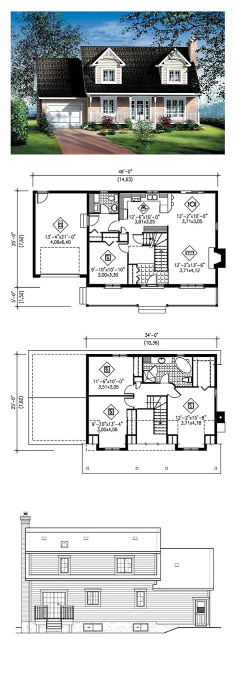 cape cod plan 3527 square feet 5 bedrooms 4 bathrooms greystone cape cod house plan 49687 entry ways house and closet