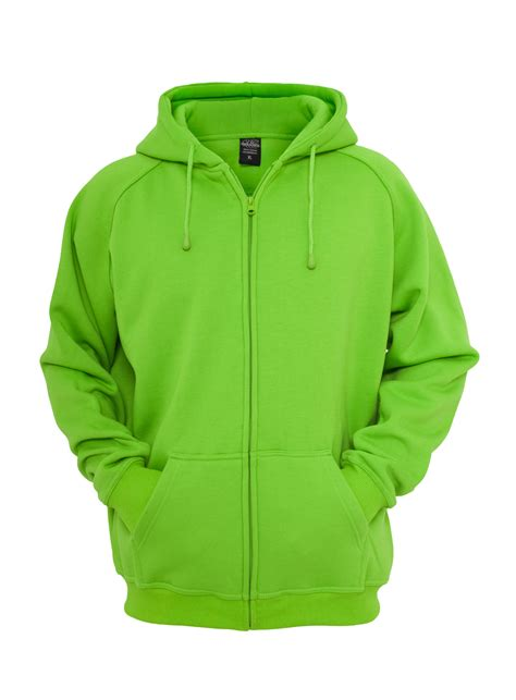 Hoodie Jaket Sweater Greenlight classics sweat jacket zip hoody light green
