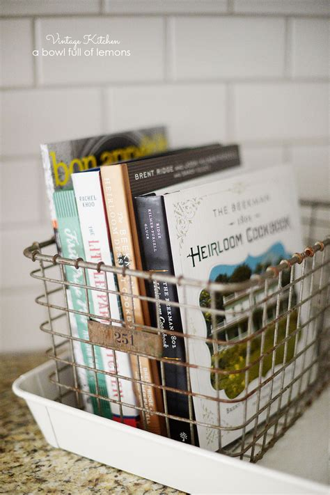 Recipe Book Rack by 20 Chic Farmhouse Storage Ideas Your Home Needs