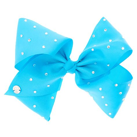 Jojo Siwa Bow By Timorashop jojo siwa large rhinestone blue signature hair bow s
