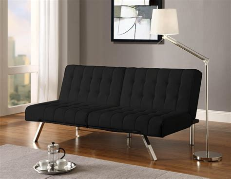 futons accessories emily futon black bm furnititure