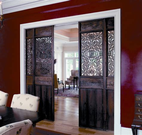 barn doors for homes interior interior barn door for home with decorative carving room