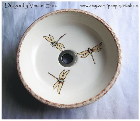 thrown pottery sinks beautiful fresh out of the kiln wheel thrown dragonfly