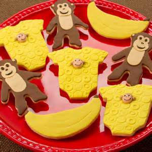 Monkey Cookie Cutter Baby Shower by Monkey Baby Shower Cookies Country Kitchen Sweetart Cake