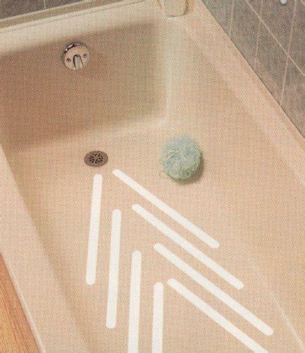 Bathtub Anti Slip Strips by Safe Way Traction 16 X 40 White Adhesive Vinyl Anti Slip