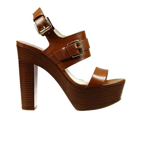 Heels Claudio 2 Brown michael kors shoes beatrice heel 9 2 sandal leather with