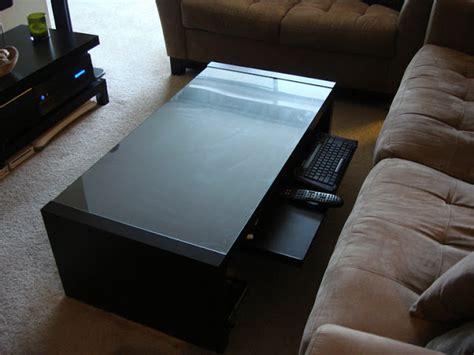 home theater coffee table ikea hackers ikea hackers