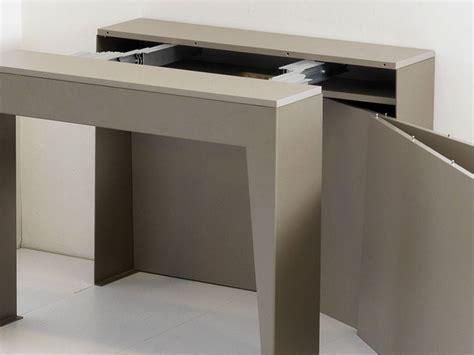 consolle tavoli allungabili tavolo consolle allungabile in metallo marvel