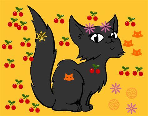 gatta persiana disegno gatta persiana colorato da il 10 di aprile