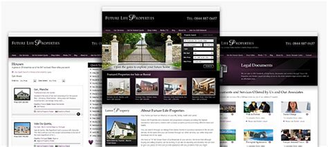 design free website uk estate agent website design big web company