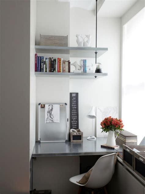Office Corner Shelf by Space Saving Corner Shelves Design Ideas