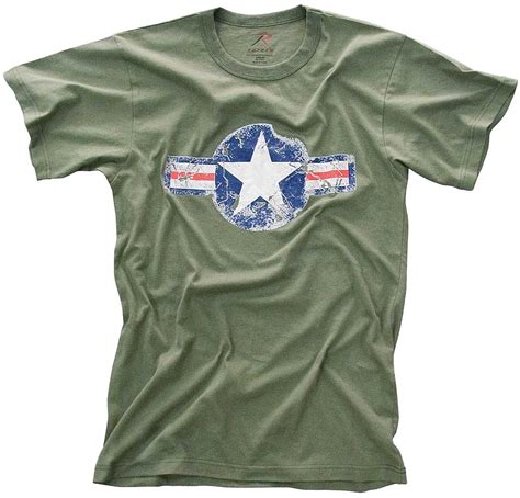 Tshirt Line Friends 107 Olive rothco mens vintage army air corps t shirt