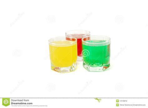 colored soft drinks stock photography image 14743012