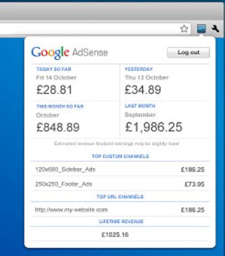 adsense earning how to install adsense publisher toolbar in chrome