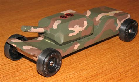pinewood derby tank templates pinewood derby stories and photos from maximum velocity