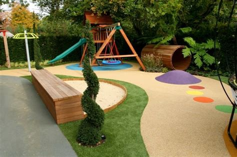 backyard play area landscaping 20 perfect pallet patio furniture ideas bonito designs