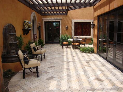 how to use pavers to make a patio brick paver patios 10 patios that use paver patterns to