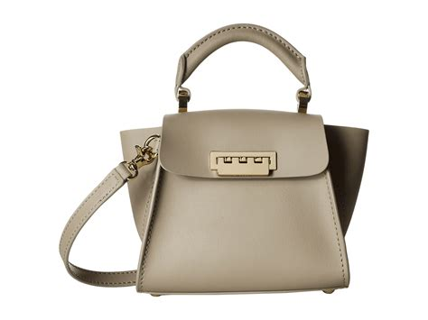 Zac Posen Lil Zac Grainy Leather Purse by Zac Zac Posen Eartha Iconic Top Handle Mini At Zappos