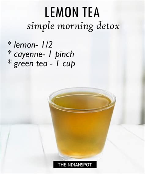 How Does Detox Tea Work by Morning Detox Tea Recipes For Healthy And Glowing