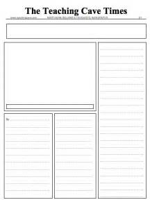 newspaper template writing newspaper reports ks1 and ks2 narrative lesson