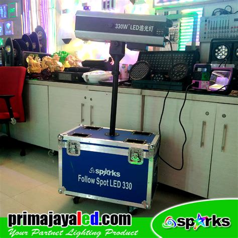 Lu Followspot 330 Watt review follow spot led 330 watt prima jaya led