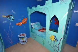 nemo themed bedroom little mermaid and finding nemo themed bedroom in a