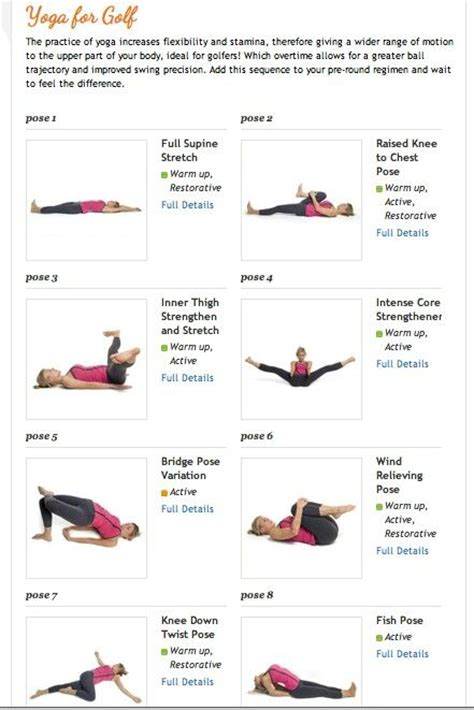 exercises for golf swing flexibility best 25 yoga for golfers ideas on pinterest golfers