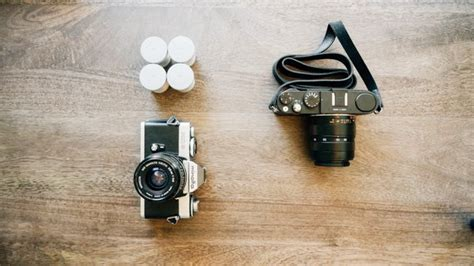 Analog Photographer vs digital a comparison of the advantages and