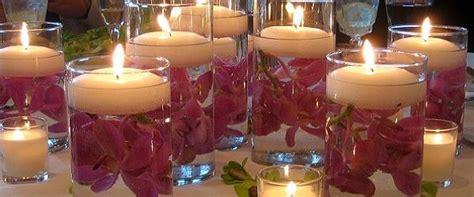 candele per matrimonio candele matrimonio decorazioni addobbi centrotavola