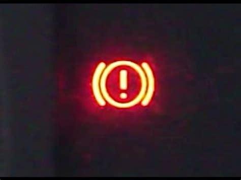 Toyota Brake Warning Light How To Reset Brake Warning Light On 2000 2007 Toyota