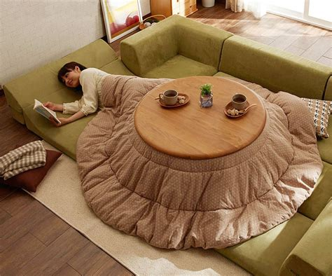 heated blanket for tables japanese style kotatsu heated tables home design