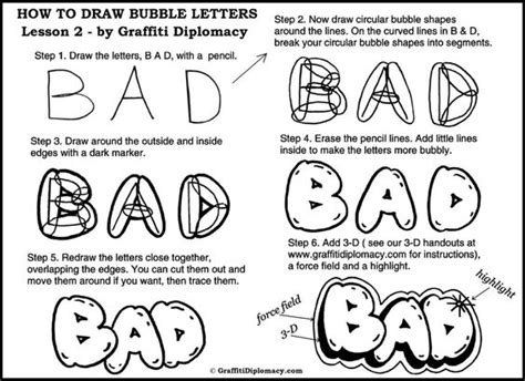 lettering sketch tutorial how to draw bubble letters chalk art pinterest how