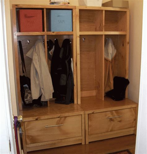 mudroom locker plans diy pdf diy entryway furniture plans download flow bench plans
