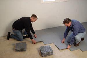 basement flooring system thermal system basement