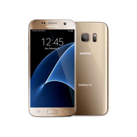 0 Samsung S7 Samsung Galaxy S7 Sm G930v 32gb Gold Verizon Wireless Walmart