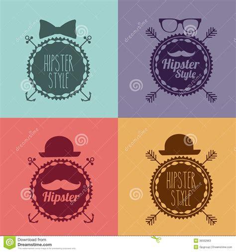 design background hipster hipster design stock vector image 39332963