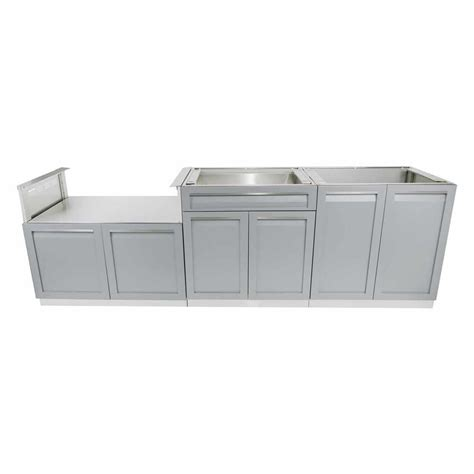 4 life outdoor stainless steel drawer plus 32x35x22 5 in 4 life outdoor stainless steel 3 piece 104x35x22 5 in