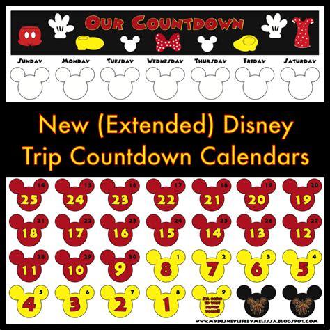 disney countdown calendar template printable disney countdown calendar search results